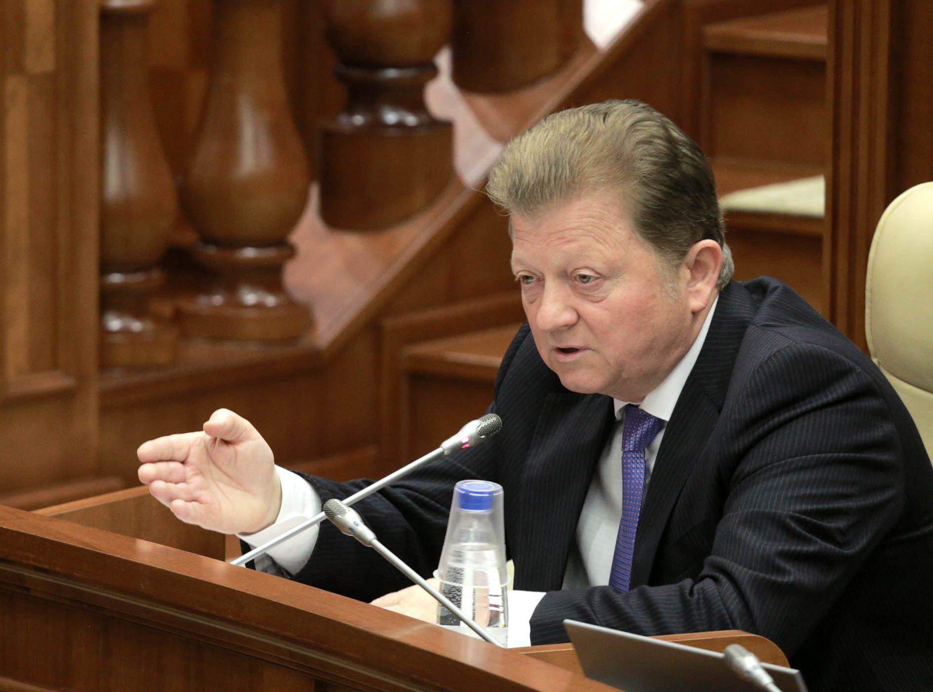 Цуркан ответил Филипу: Я говорю на молдавском языке, как меня учили мама и папа